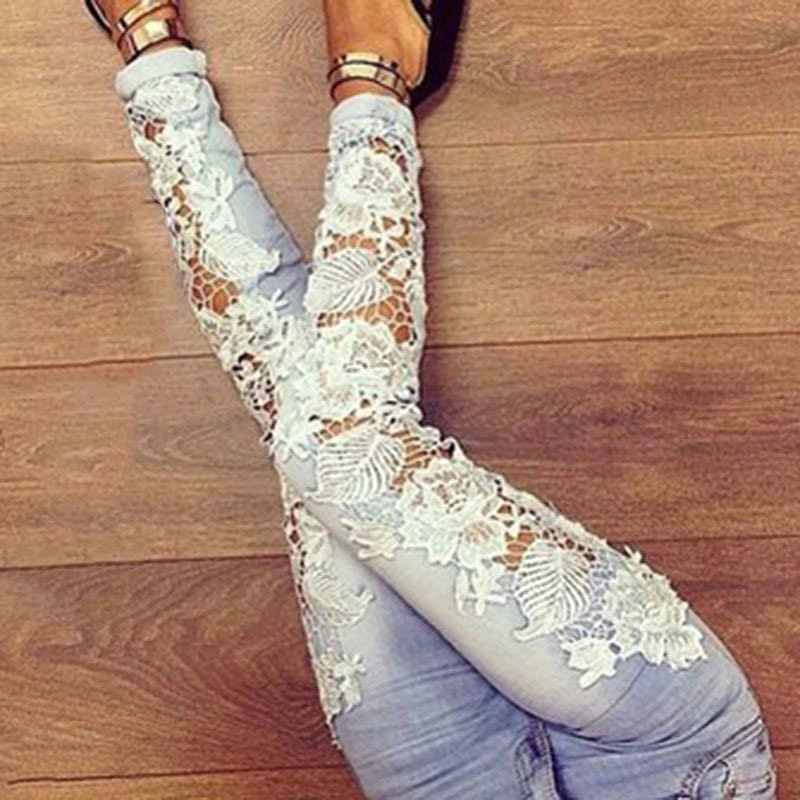 Yeni Dantelli Pantolon Modelleri
