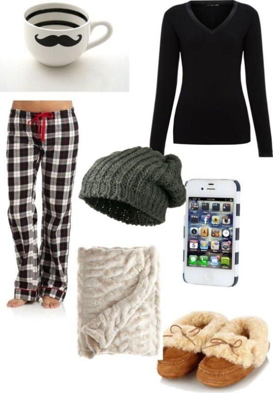 Evde Rahat Giyim için Kombinler 5