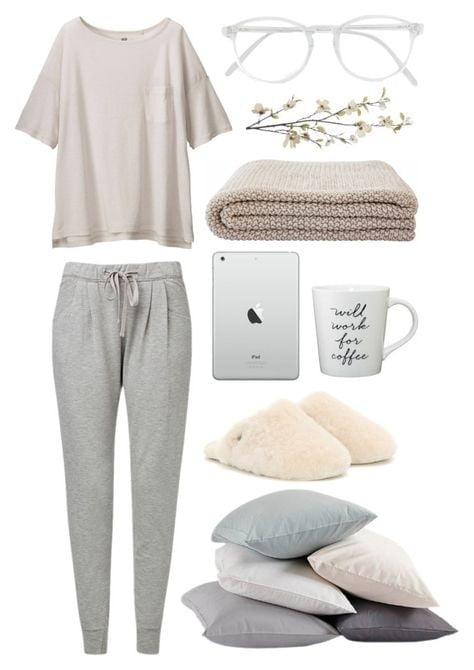 Evde Rahat Giyim için Kombinler 7