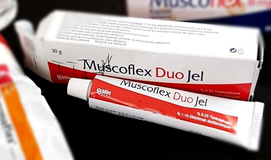 Muscoflex Duo Jel Ne İşi Yarar