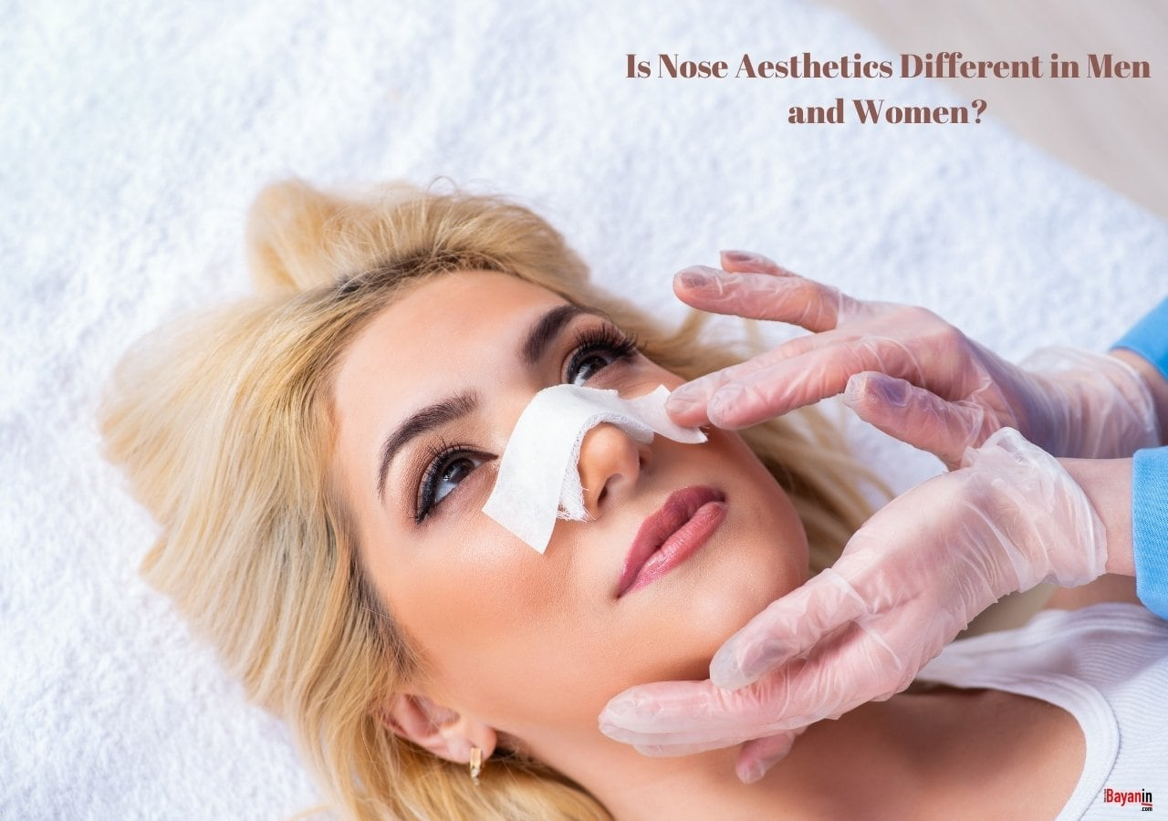 Is Nose Aesthetics Different in Men and Women?