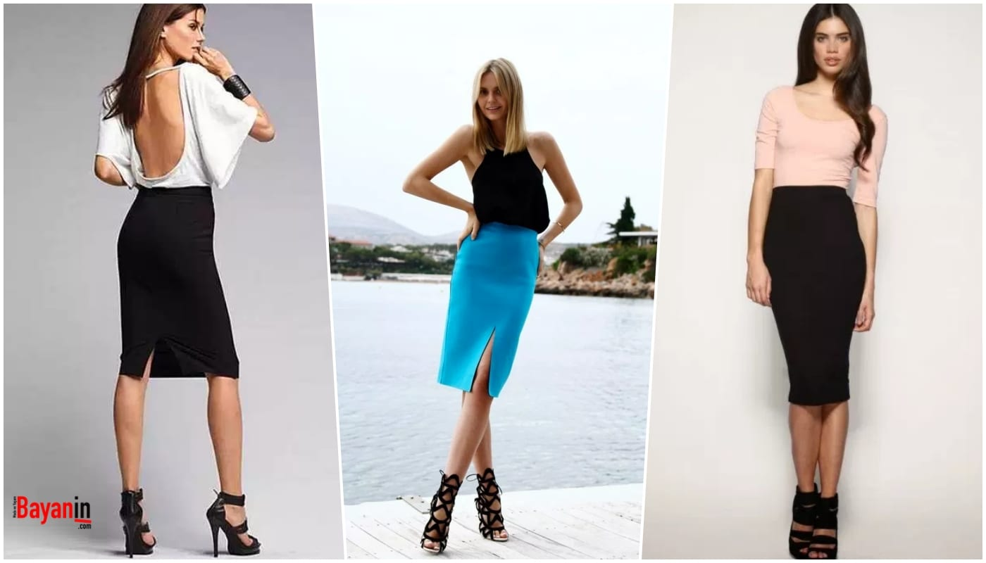 Pencil Skirt Models